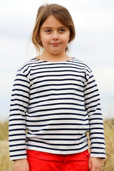 Marinière enfant La petite Soulacaise Cot' & Bord de Mer