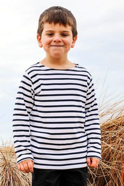 Marinière mixte enfant | Côt Bord de Mer