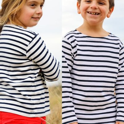 mariniere enfant made in france fille garçon mixte