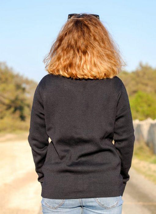 Gilet - veste mérinos femme sable et mer cot' & Bord de Mer