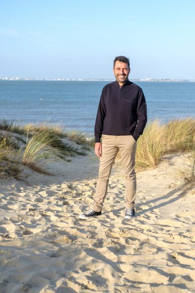 pantalon homme marinière