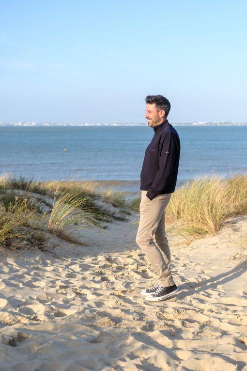 pantalon homme marinière Soulac de Mer