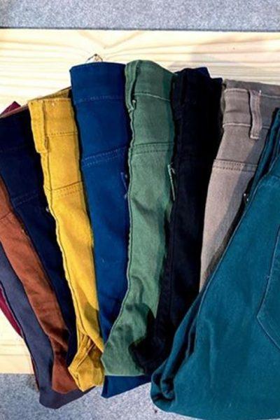 collection de pantalon femme toutes couleurs