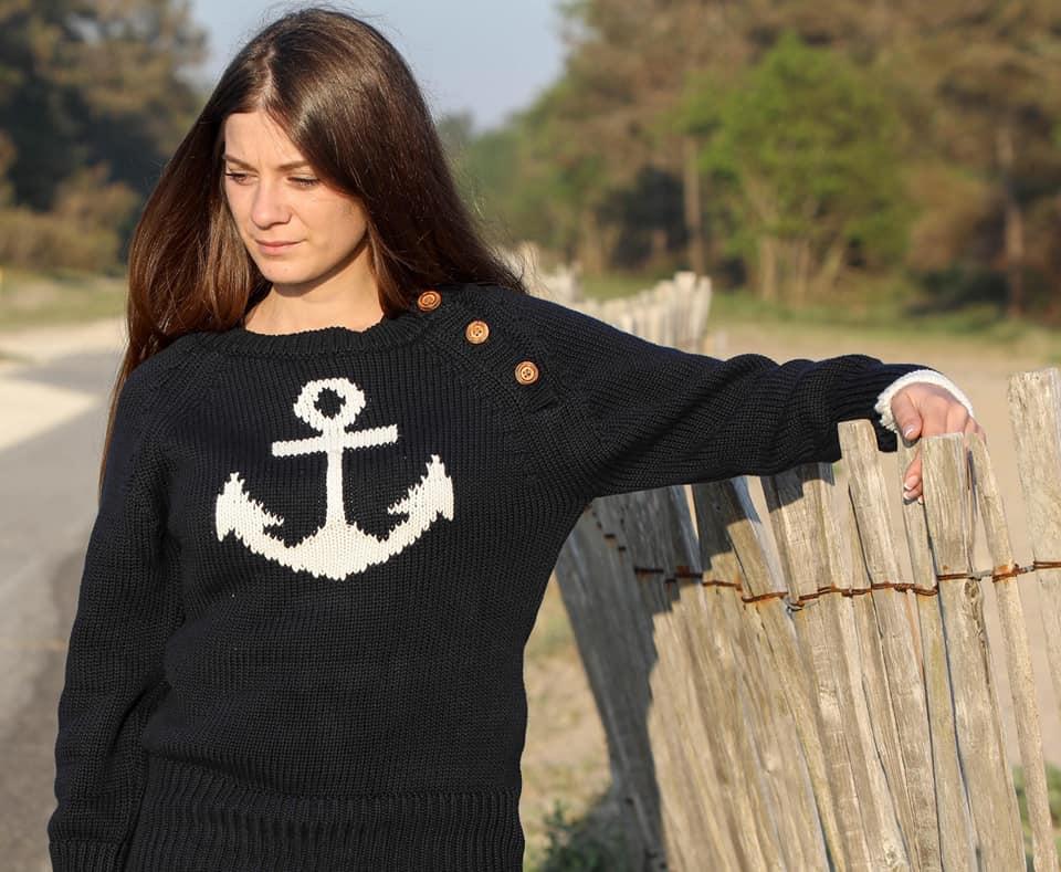 vêtement marinière femme